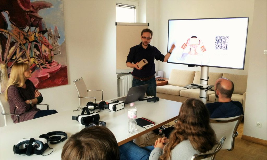 anyACADEMY Vortrag Virtual Reality VR bei anyMOTION