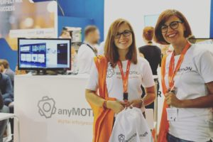 digital agentur anyMOTION Mitarbeiterinnen auf der dmexco 2016