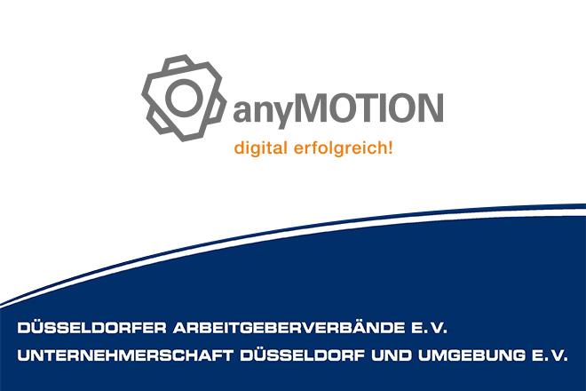 E-Commerce anyMOTION bei Unternehmerschaft Düsseldorf Fit im Vertrieb 2016