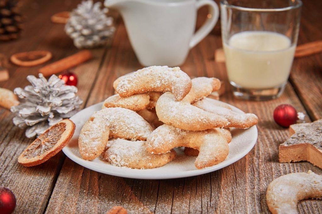anyMOTION Vanillekipferl Plätzchenrezept Weihnachten auch vegan möglich