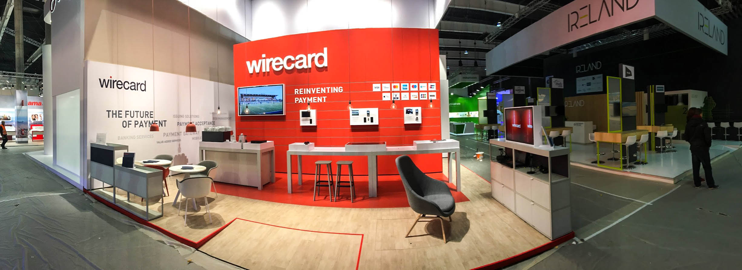 Die Ruhe vor dem Sturm auf dem GSMA MWC 2017 - VR-Payment-Solution Wirecard anyMOTION