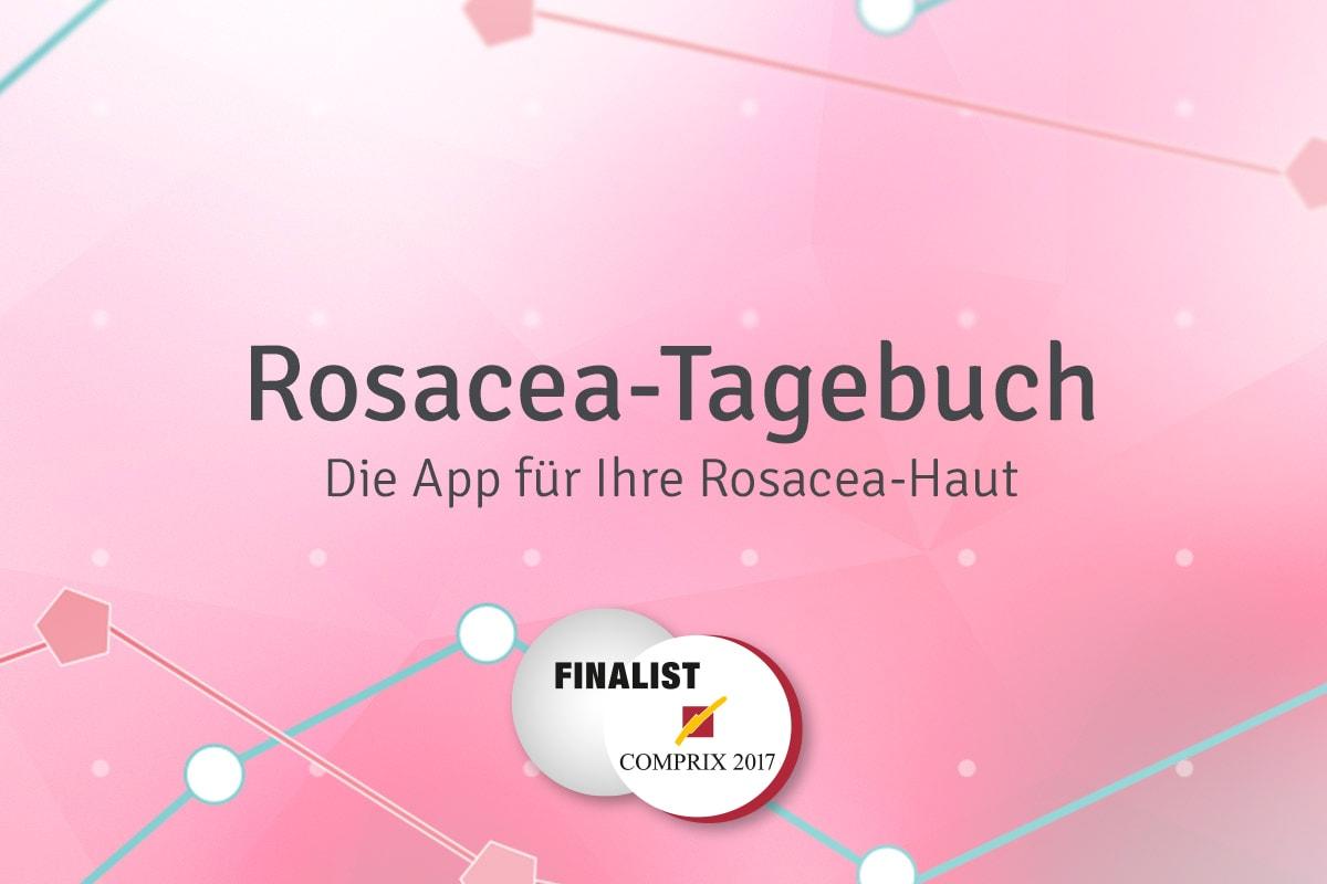 Rosacea Tagebuch Award COMPRIX 2017 Finale anyMOTION Digitalagentur