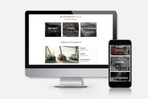 PSA Retail anyMOTION Digitalagentur Düsseldorf Internetagentur Köln Relaunch