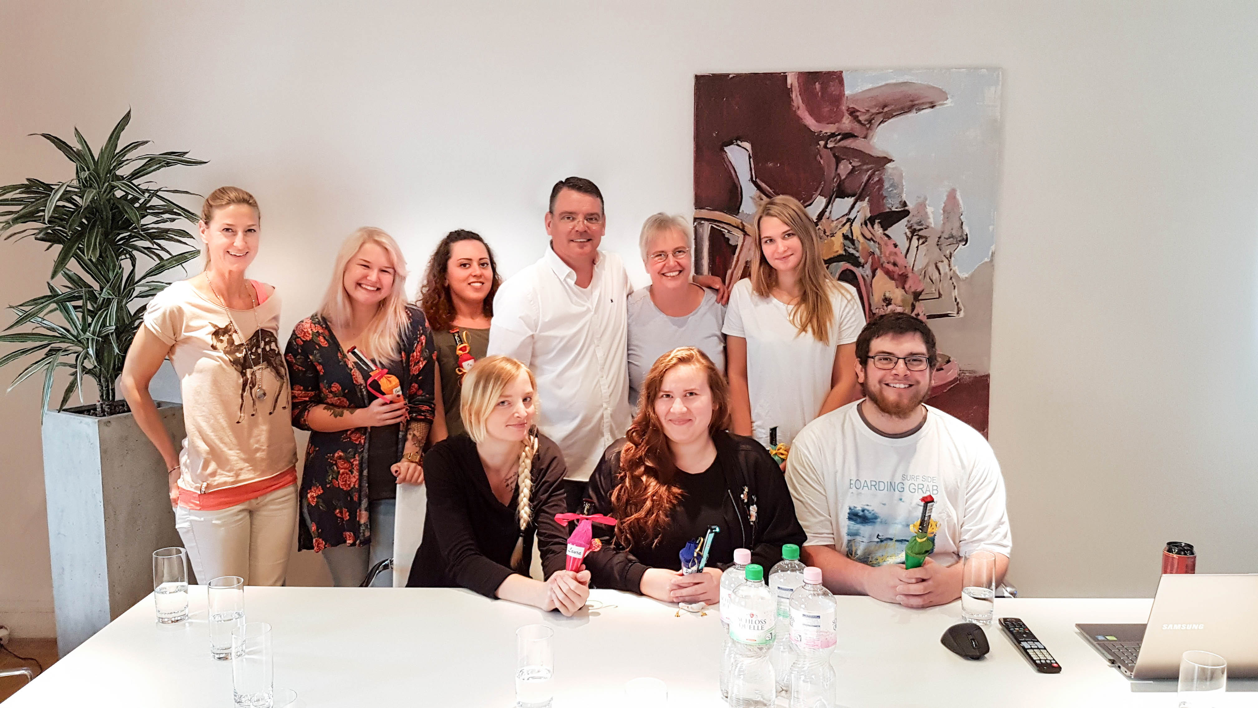 anyMOTION begrüßt die neuen Auszubildenden 2017 Fachkräfte Digitalagentur Internetagentur NRW Düsseldorf Köln