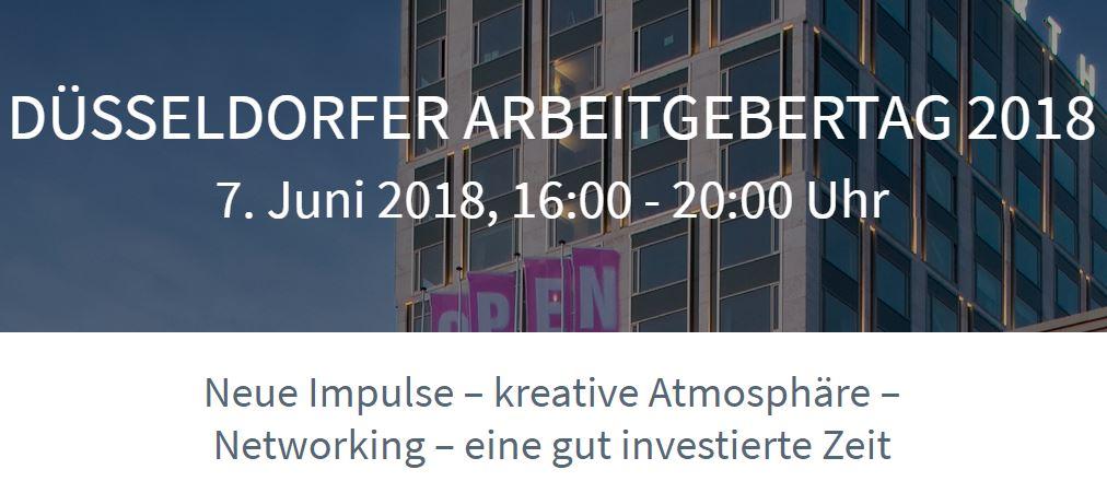 anyMOTION - Düsseldorf Digitalagentur nimmt am Arbeitgebertag der Unternehmerschaft Düsseldorf teil